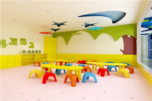 幼儿园地板可以很好抑制细菌生长